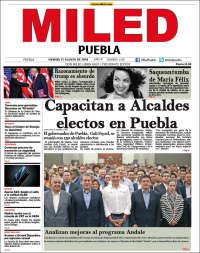 Portada de Miled - Puebla (Mexico)