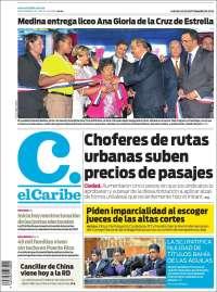 Portada de El Caribe (Dominican Rep.)