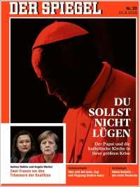 Portada de Der Spiegel (Alemania)