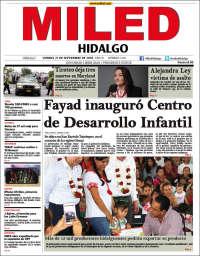 Portada de Miled - Hidalgo (Mexico)