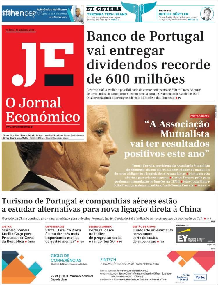 Portada de Oje (Portugal)