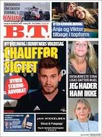 Portada de B.T. (Dinamarca)