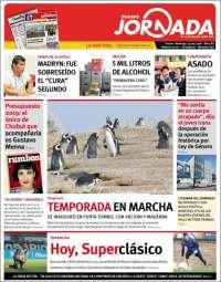 Portada de Diario Jornada en la Patagonia (Argentine)