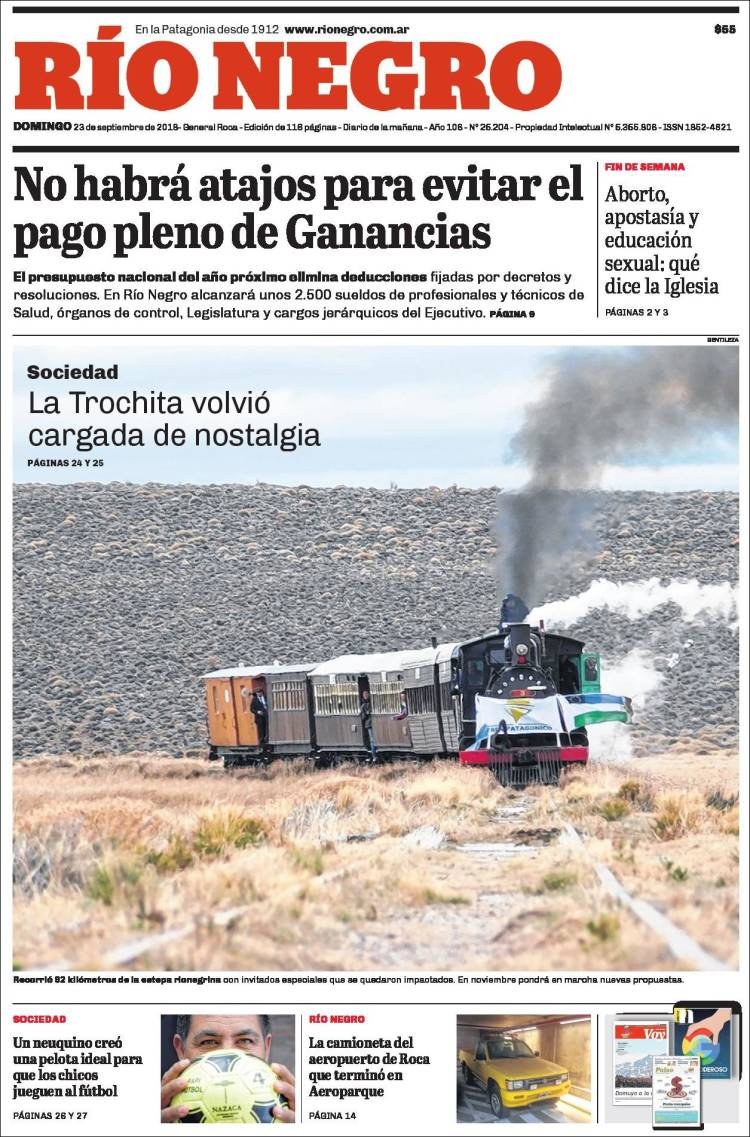 Portada de Rio Negro (Argentine)