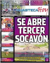 Portada de Huasteca Hoy (Mexique)