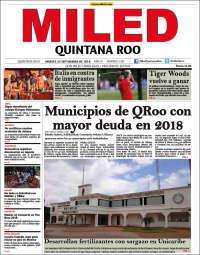 Portada de Miled - Quintana Roo (Mexique)