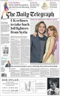 Portada de Daily Telegraph (United Kingdom)
