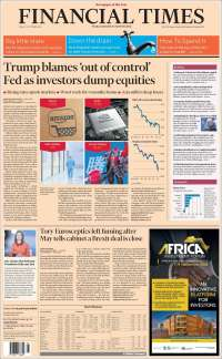 Portada de Financial Times (United Kingdom)
