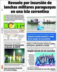 Portada de Diario Norte (Argentine)