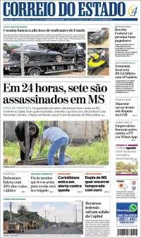 Portada de Correio do Estado (Brasil)