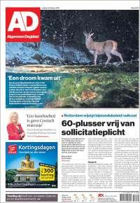 Portada de AD (Países Bajos)