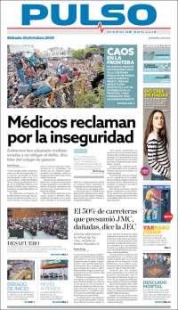 Portada de Pulso (México)