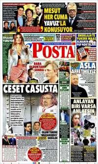 Portada de Posta Gazetesi (Turquie)
